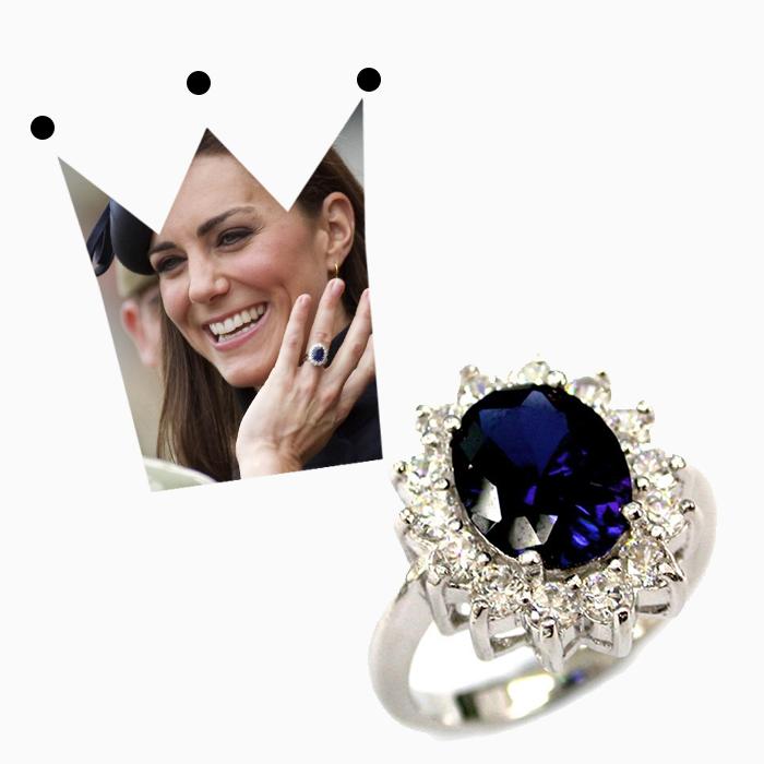 кольцо герцогини кембриджской