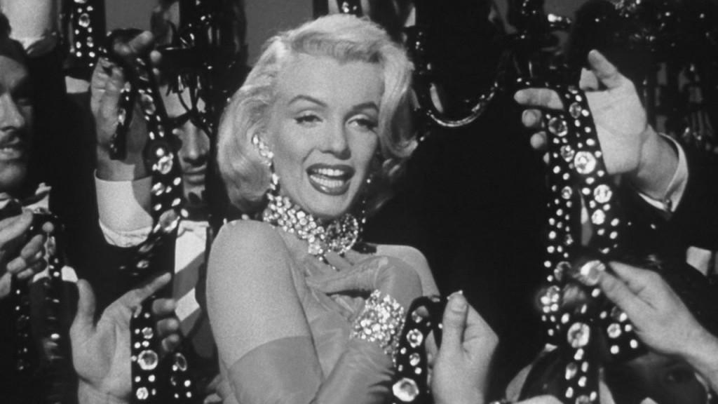 Мэрилин Монро в фильме «Джентльмены предпочитают блондинок», 1953