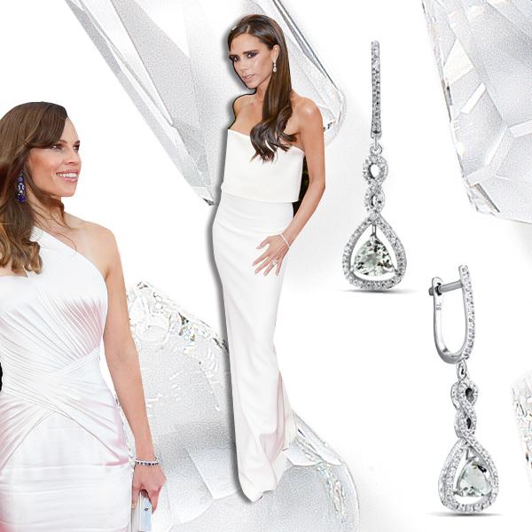 Кварц  Лучшие платья года цвета драгоценных камней