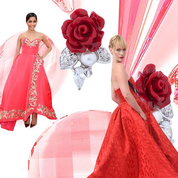 Коралл Лучшие платья года цвета драгоценных камней