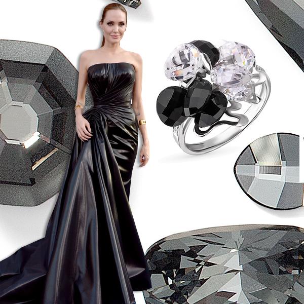 Оникс Лучшие платья года цвета драгоценных камней