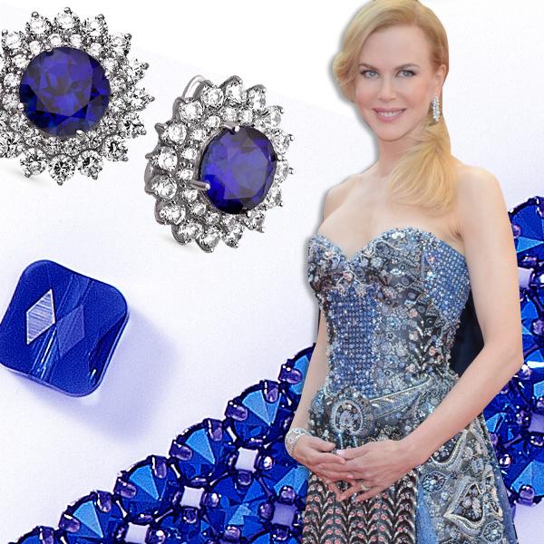 Сапфир Лучшие платья года цвета драгоценных камней