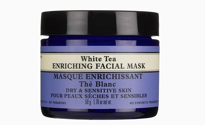 Увлажняющая маска для лица White Tea Enriching Facial Mask от Neals Yard Remedies1 9 брендов органической косметики, о которых вы не знали
