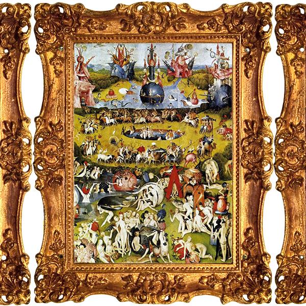 «Сад земных наслаждений», Иероним Босх (1500 – 1510)