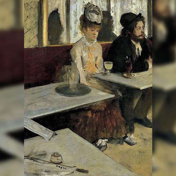 «Абсент», Эдгар Дега (1876)