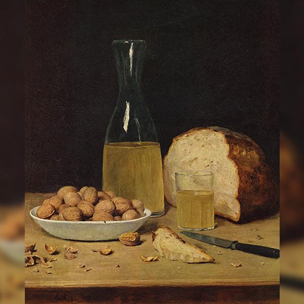 «Вино и каштаны», Альберт Анкер (1914)
