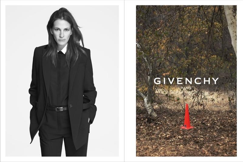 Джулия Робертс в рекламной кампании Givenchy, весна-лето 2015