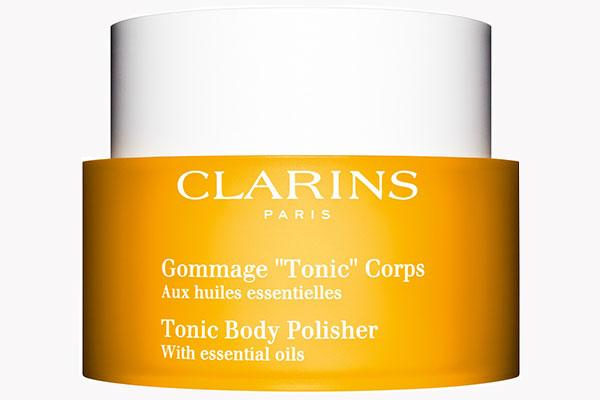 Скраб для тела с эфирными маслами Tonic от Clarins