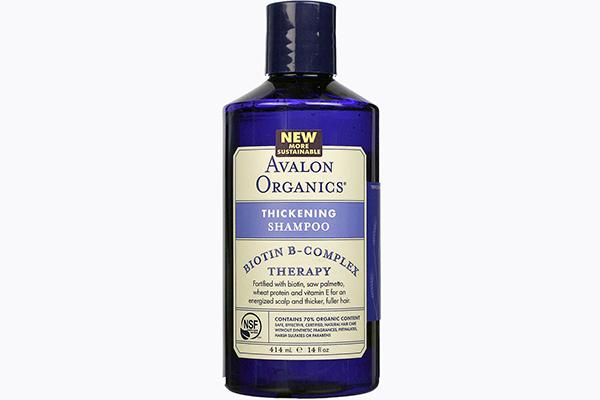 Шампунь для ослабленных, склонных к выпадению волос Biotin B-Complex Therapy от Avalon Organics