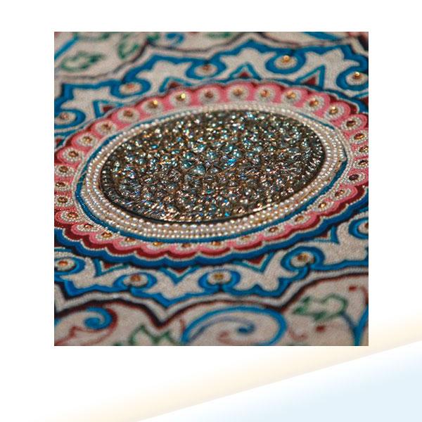 «Жемчужный ковер» махараджи Барода Кханде Рао