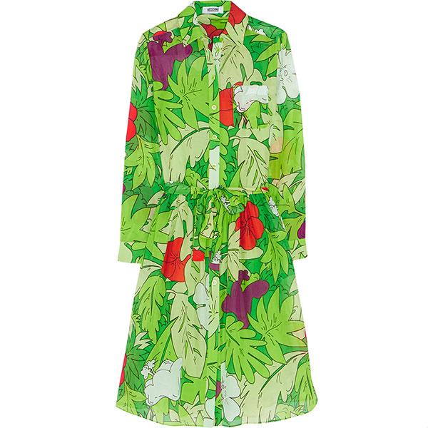 Платье-рубашка Moschino Cheap and Chic