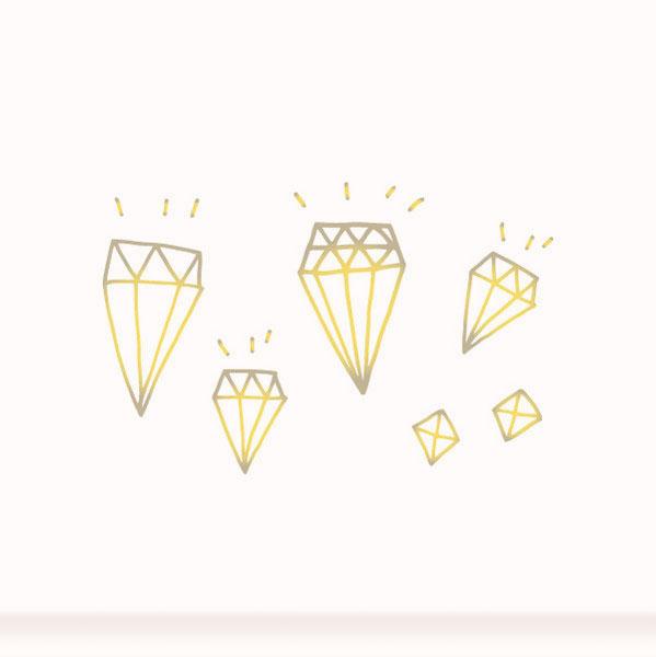 Временная татуировка Diamonds от Tattly 6 18.42.12 Тестируем татуировки, золотые и временные