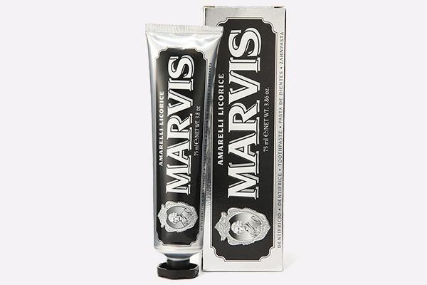 Зубная паста «Лакрица Амарелли» от Marvis 310 руб. 8 прогрессивных средств для ухода за зубами