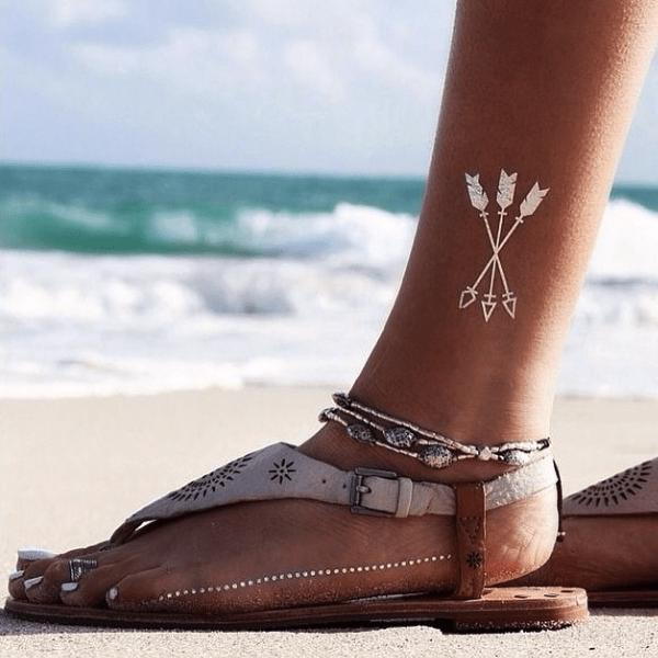 Татуировки 3 Тестируем татуировки, золотые и временные