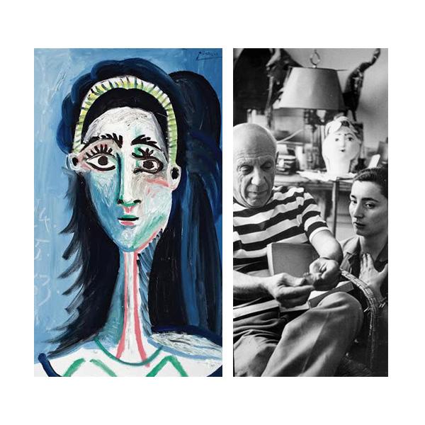 «Голова женщины (Жаклин)», Пабло Пикассо