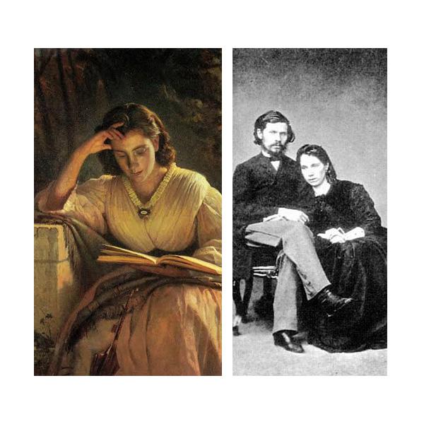 «За чтением», Иван Крамской