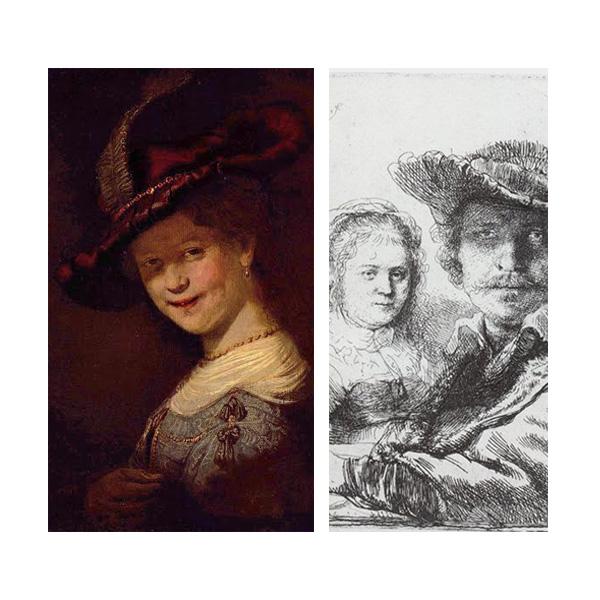 «Портрет Саскии ван Эйленбюрх», Рембрандт