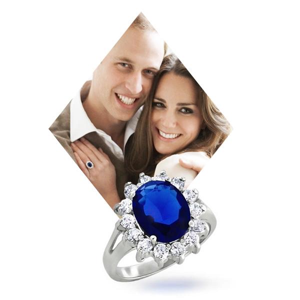 Помолвочное кольцо Garrard & Co