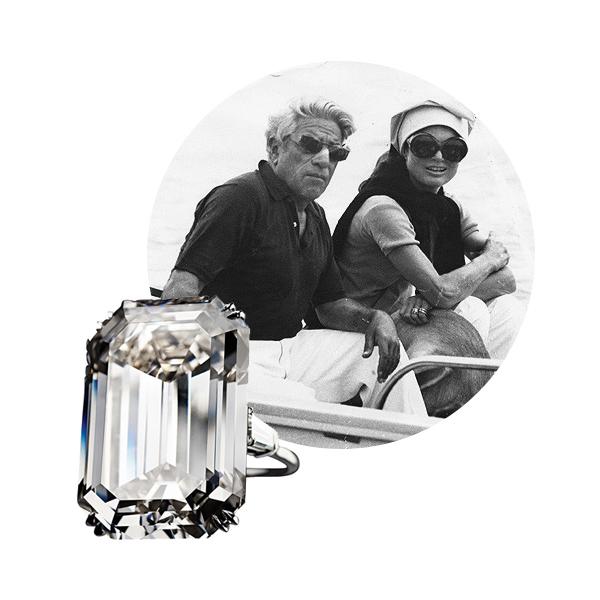 Помолвочное кольцо Harry Winston