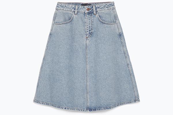 Zara 8 юбок, без которых этой весной не обойтись
