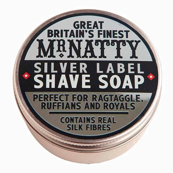 Мыло для бритья Silver Label Shave Soap от Mr. Natty 1 590 руб. Теперь он полюбит бороду, или 5 лучших барбершопов