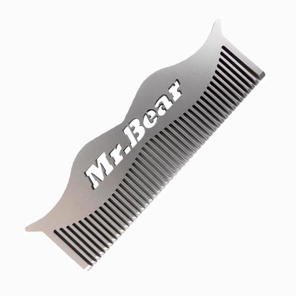 Расческа для бороды и усов из нержавеющей стали от швейцарцев Mr Bear 1 500 руб. Теперь он полюбит бороду, или 5 лучших барбершопов