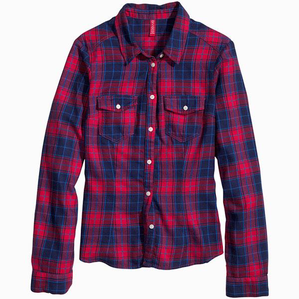 Рубашка HM 7 вещей, на которые не стоит тратить больше 1 500 рублей
