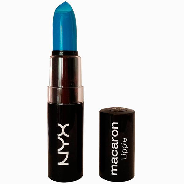 Macaron Lippies в оттенке Blue Velvet от NYX 420 руб. 6 самых сумасшедших оттенков помад для весны