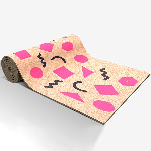 Коврик для йоги Yety Где купить самый стильный коврик для йоги