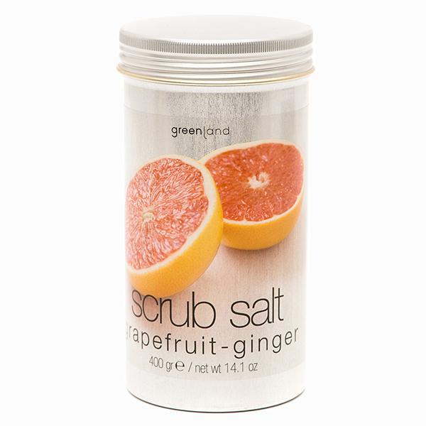Скраб-соль для тела «Грейпфрут и имбирь» от Greenland