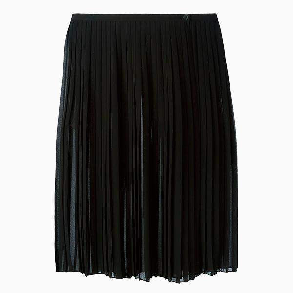 Плиссированная юбка DKNY 7 вещей из базового осеннего гардероба