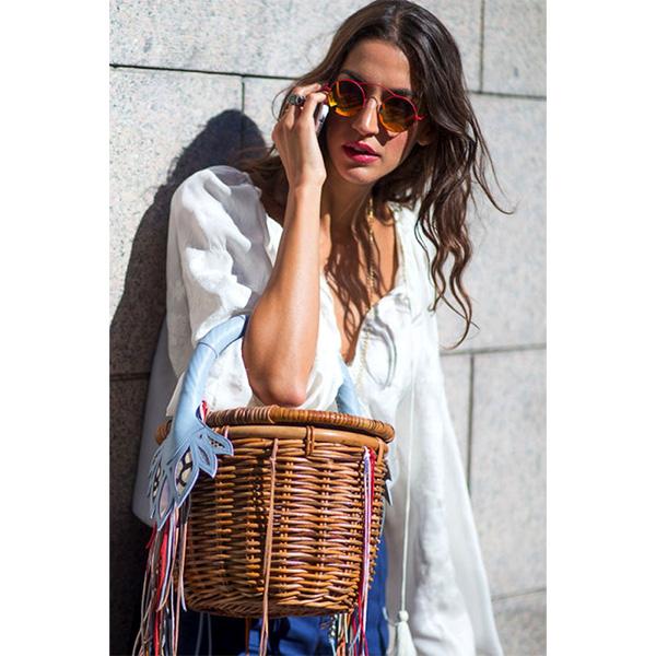 517 Как носить сумки корзинки <br> в городе